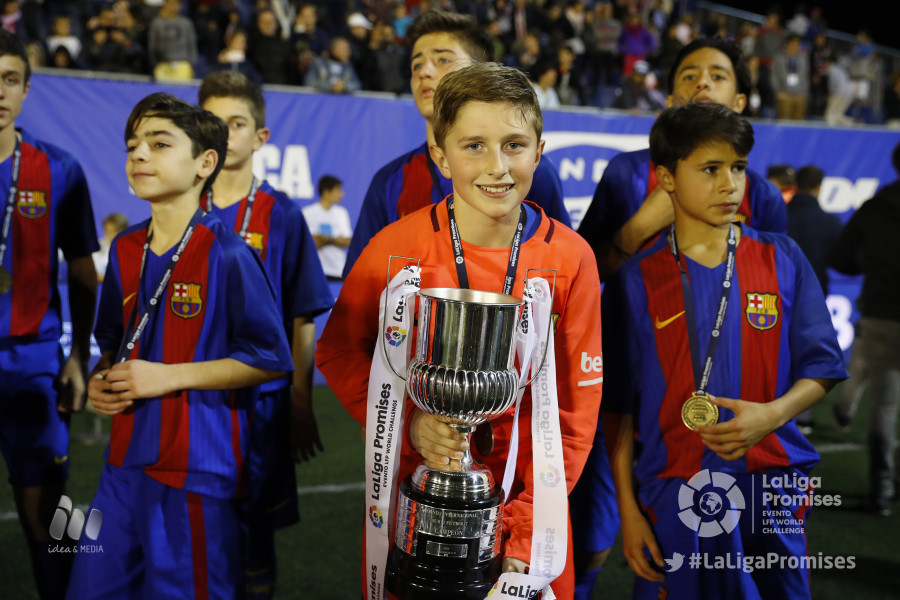 Barcellona campione LaLiga Promises XXI